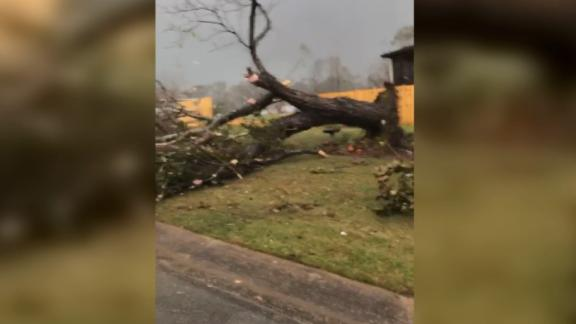 Image for Tornadoes Roll Across Five Southern States Causing at Least Five Deaths and Heavy Destruction