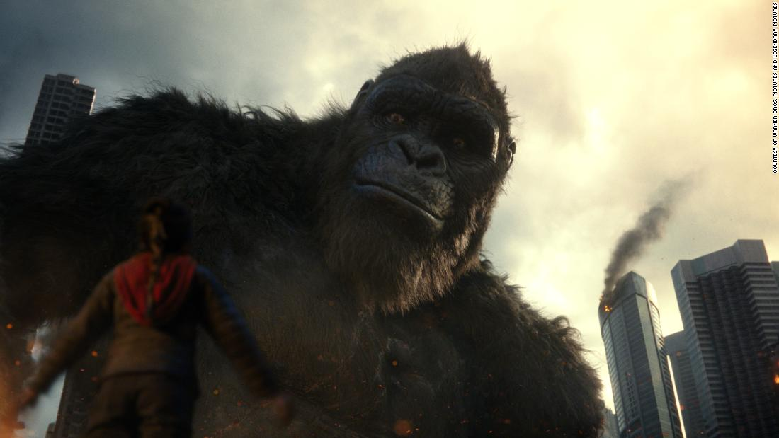 'Godzilla vs. Kong' turns the battle of 'alpha titans' into a C-level spectacle – CNN