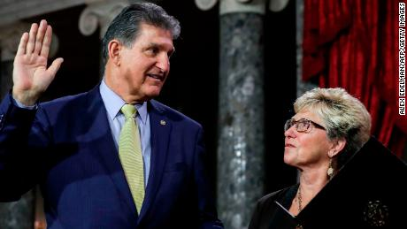 Joe Manchin on the fate of Joe Biden's agenda