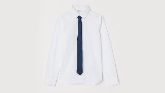 H&M Shirt With Tie