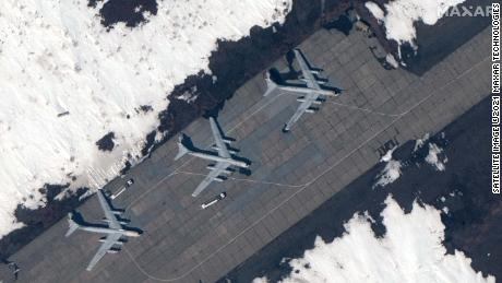 Images show build up of Russia's military presence in the Arctic