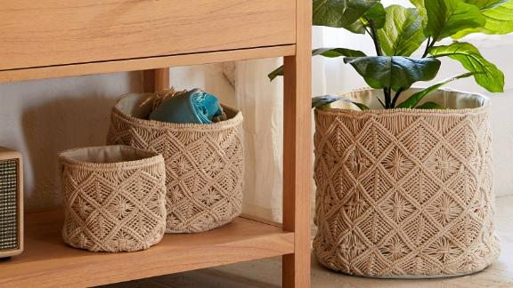 Macramé Catch All Basket
