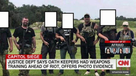 Oath Keepers accused of weapons training