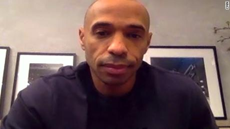 Thierry Henry tells CNN why he quit social media: 'It's not a safe place'