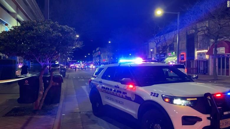 Two people slain in Virginia Beach have been identified.