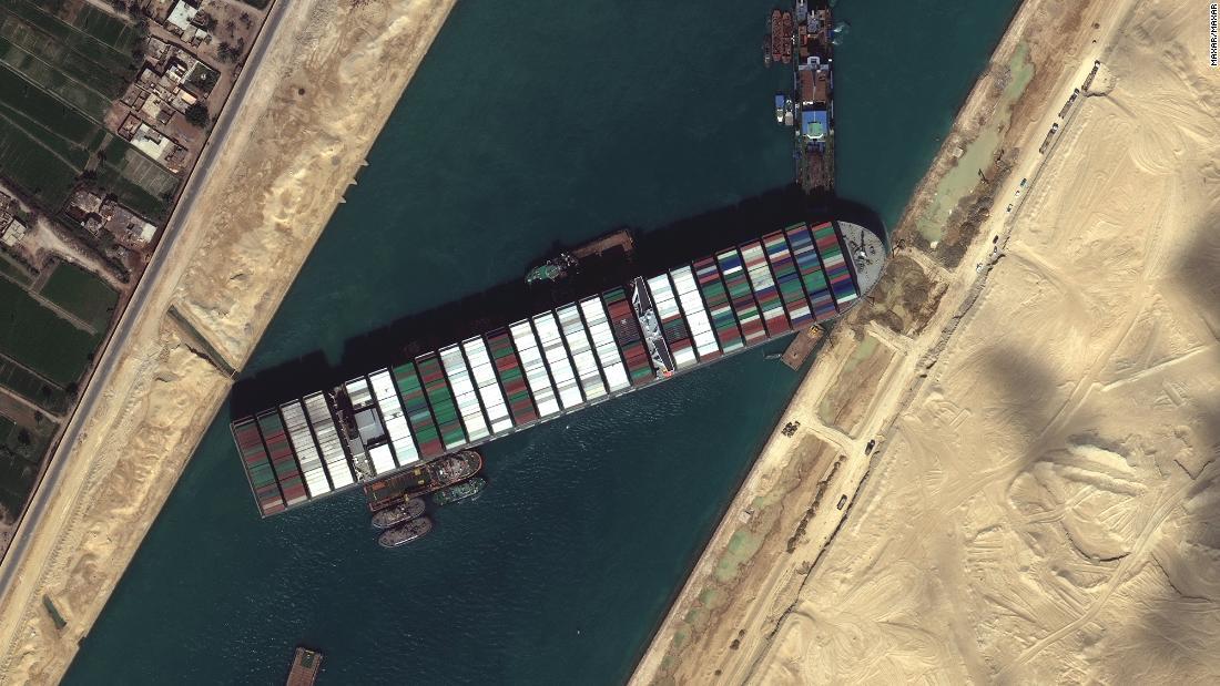 Ослободен товарниот брод кој го блокираше Суецкиот канал
