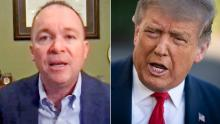 mick mulvaney january 6 riot trump comments intv nr vpx_00001330