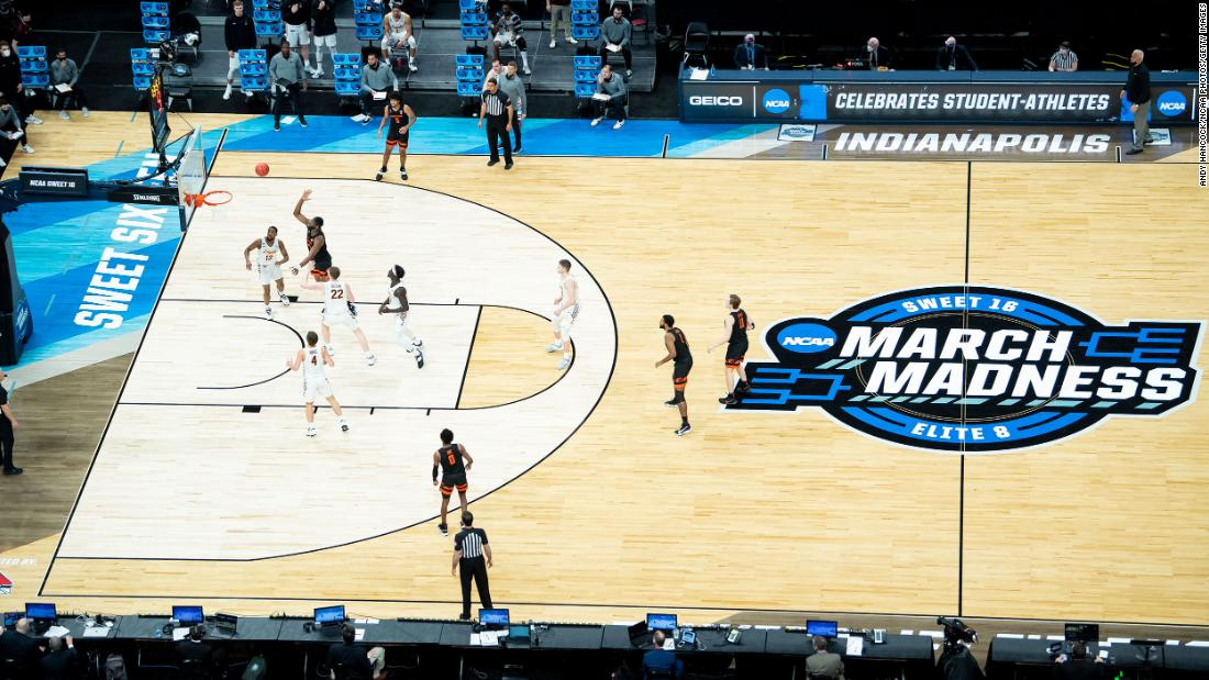Oregon State played Loyola in the first Sweet Sixteen game of the tournament. Oregon State, a 12 seed, won 65-58 to advance to the Elite Eight.