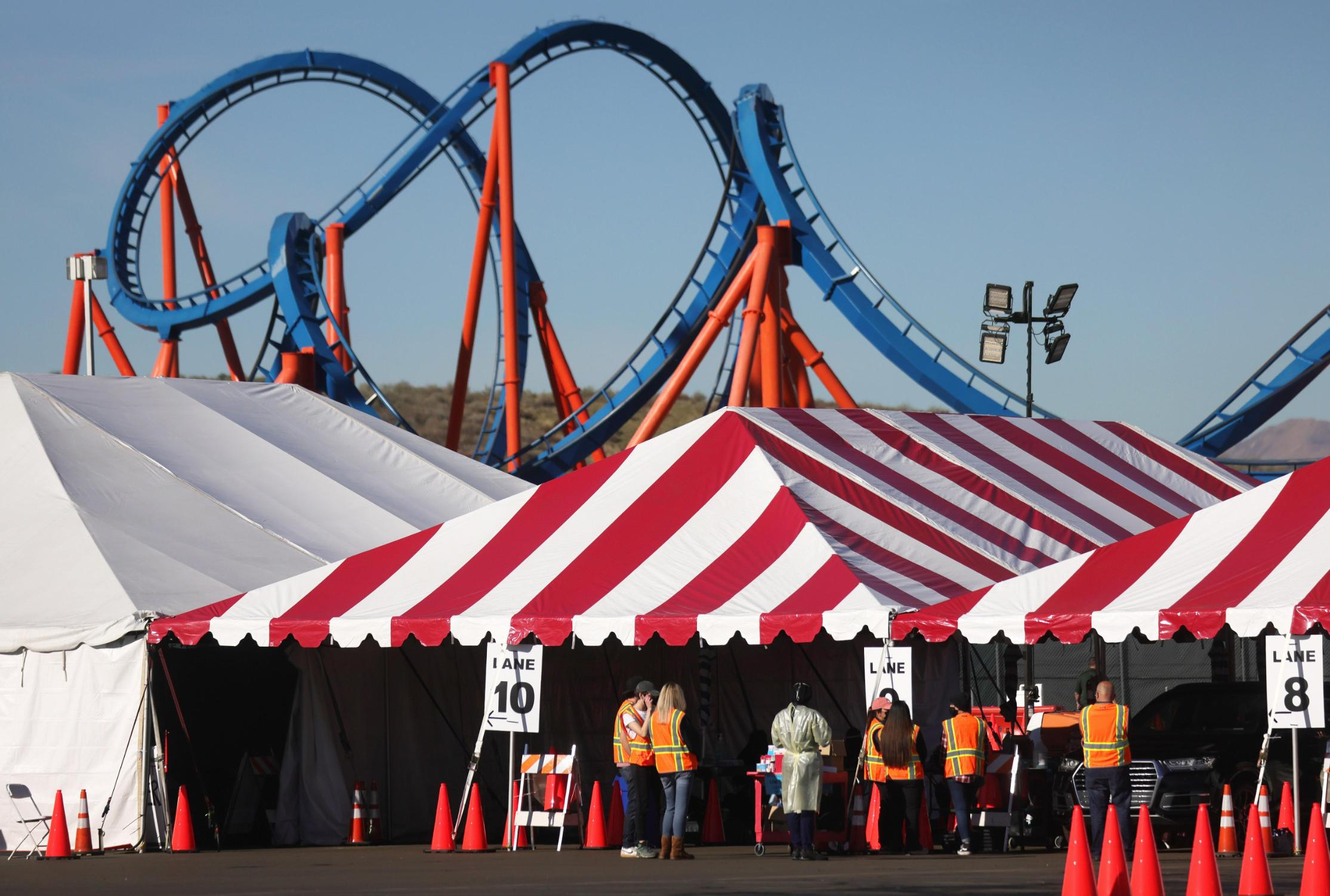 This California Theme Park Is Set To Reopen But There S A Catch Cnn Video