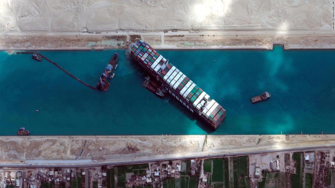 March 29, 2021 Suez Canal ship news
