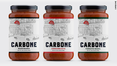 Carbone pasta sauaces are now on sale.
