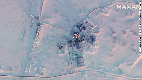 Satellite images show huge Russian military buildup in the Arctic