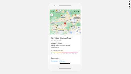 A new Google Maps feature will let users see air quality within the app.