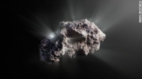 手付かずの星間彗星は、巨大な惑星を含むシステムから来ました
