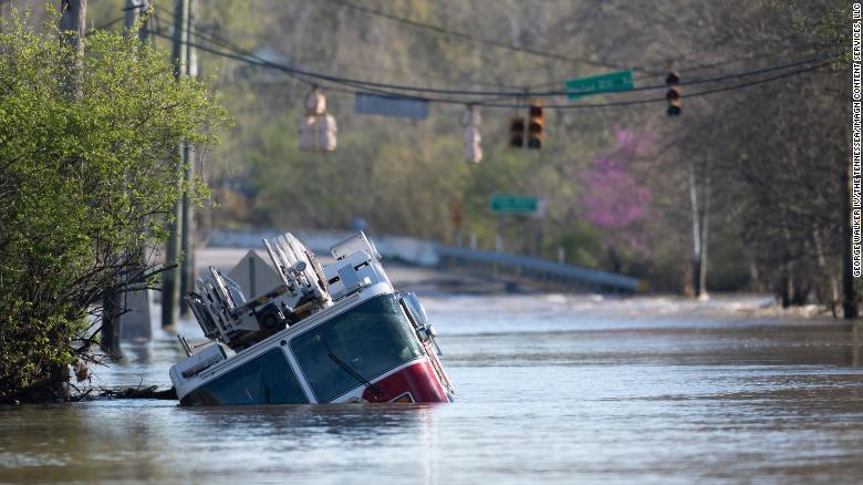 Central Tennessee braces for more weather misery after weekend flooding killed 7 people and caused widespread damage