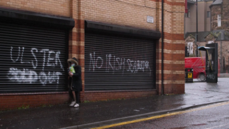 Writings on walls in Northern Ireland are eerie reminders of violent past