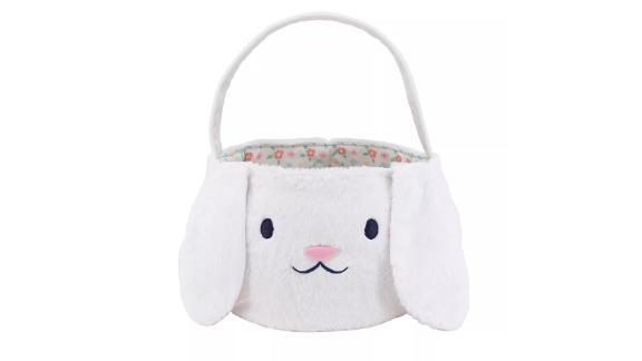 Spritz Jumbo Plush Easter Basket Bunny