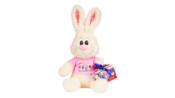 Dylan's Candy Bar Vanilla The Bunny Stuffed Toy & Candy