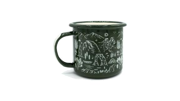 Parks Project National Parks Iconic Enamel Mug