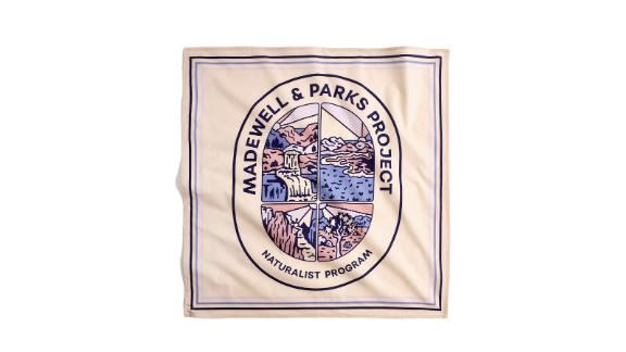 Madewell x Parks Project Naturalist Program Bandana