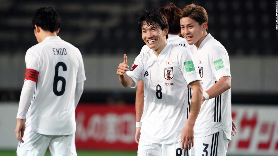 Japan thrashes Mongolia 14-0 in historic win