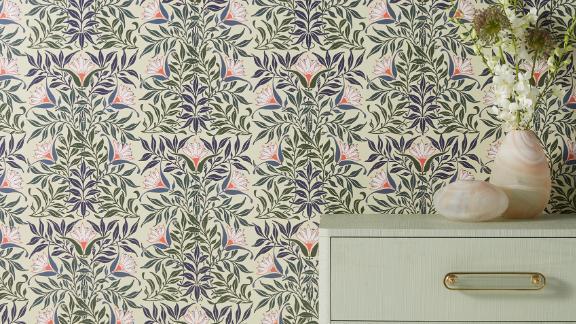 Flower Vine Wallpaper
