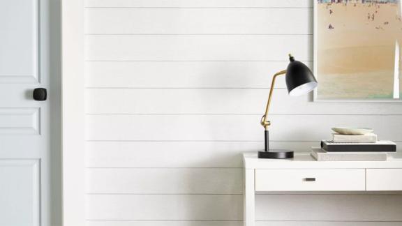 Threshold Textured Shiplap Peel-and-Stick Wallpaper