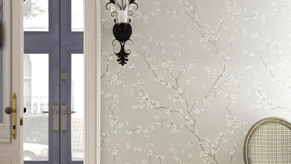 Gracie Oaks Sylvan Place Cherry Blossom Peel-and-Stick Wallpaper Roll
