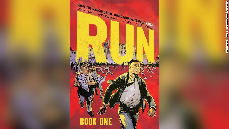 John Lewis' posthumous graphic novel 'Run: Book One' to be released this summer