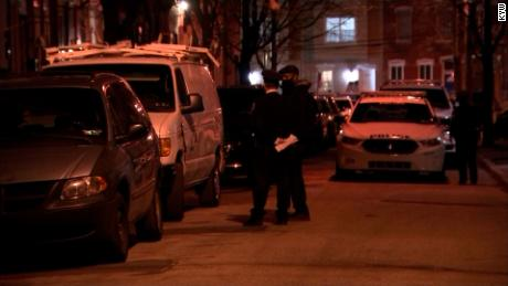 The shooting occurred in the Strawberry Mansion neighborhood of Philadelphia.