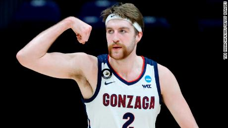 Gonzaga forward Drew Timme will hope to help his team become the first undefeated Division I men's champ since 1976.