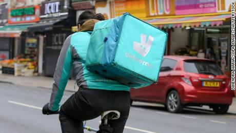 Amazon-backed Deliveroo crashes in London IPO