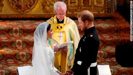 Welby married Harry and Meghan at St. George's Chapel in Windsor.