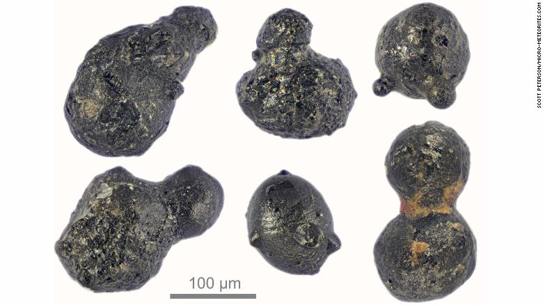 A meteorite exploded in the air above Antarctica 430,000 years ago