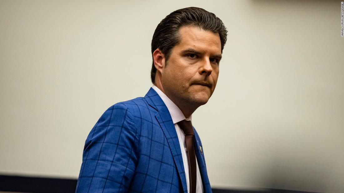 Embattled Florida Rep. Matt Gaetz is denied a meeting with Trump