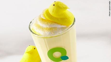 Quickchek's Peeps smoothie.