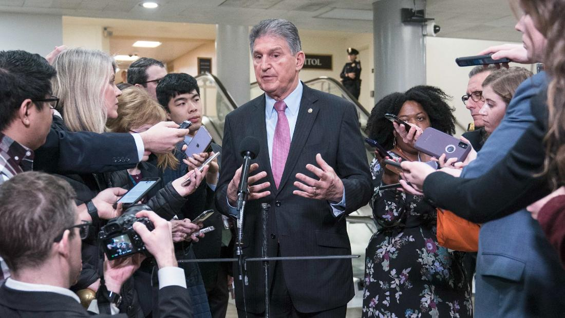 Why Manchin is one of the most powerful politicians in Washington