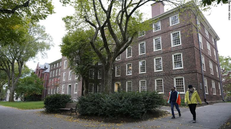 Brown University undergraduates vote for reparations for descendants of enslaved people