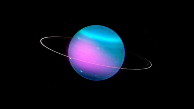 Scientists have discovered X-rays coming from Uranus