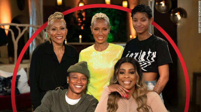 Jada Pinkett Smith's 'Red Table Talk' returns with Niecy Nash and her 'hersband'