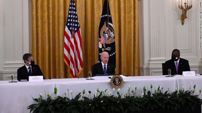 Top Biden national security officials to brief lawmakers on Afghanistan Tuesday