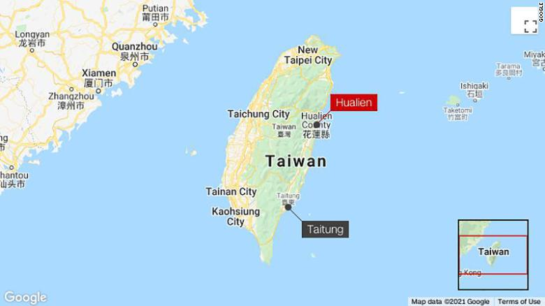 Train derails in Taiwan, many feared dead