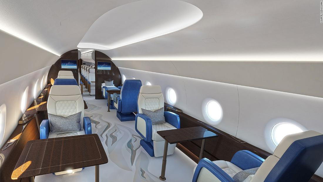 Exclusive look inside the US supersonic presidential jet | CNN Travel