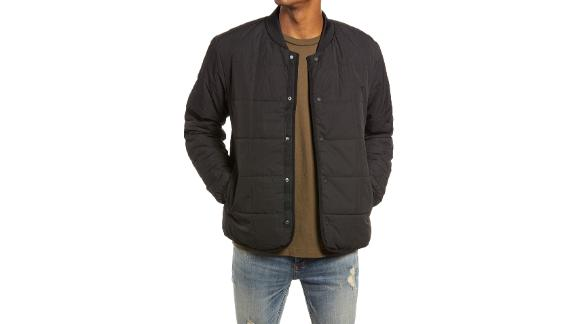 Topman Square Quilted Jacket