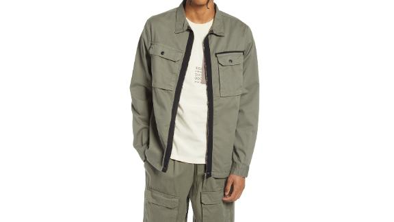 Native Youth Washed Cotton Overshirt