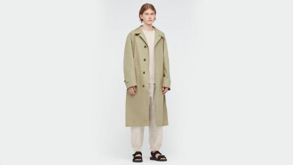 Uniqlo U Single-Breasted Trench Coat
