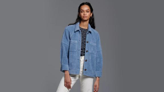 Anthropologie Charley Cozy Shirt Jacket