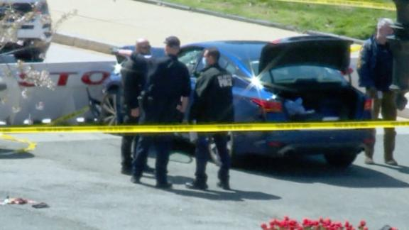 Image for Capitol Police Officer Killed, Another Injured after Suspect Rams Car into Police Barrier Outside Building