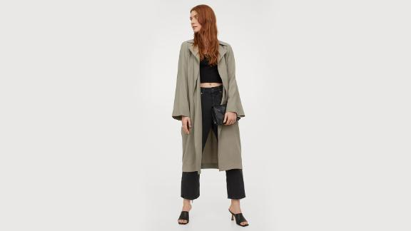H&M Lightweight Trench Coat