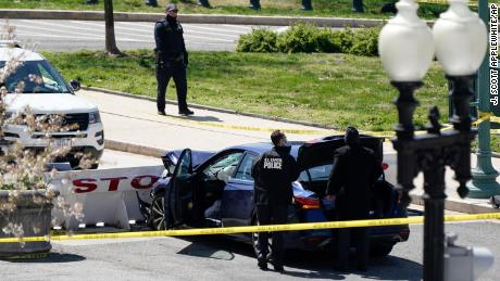 Capitol Police officer killed, another injured after suspect rams car into police barrier outside building